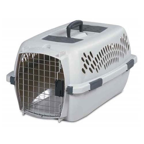 Petmate PTM2108 Pet Taxi Traditional Portable Dog Kennel in Gray Size: Medium (11.84' x 15.2' x 23') * Tried it! Love it! Click the image. : Dog kennels