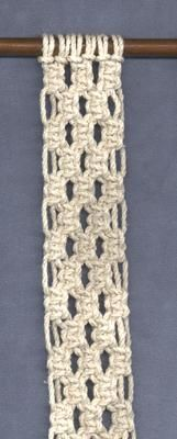 Awesome website for more complicated macramé designs. She sells her work but also shows you haw to do most of it!