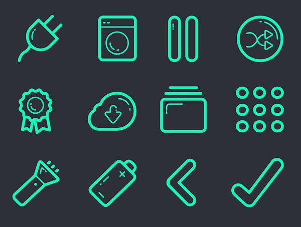 Vector Icon Set – 100+ Icons Free Download   Icons   Graphic Design Junction #vectoricons #freeicons #psdicons #svgicons #iconfont