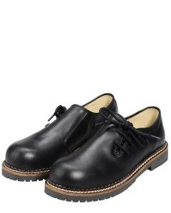 "Schwarze Jungen #Haferlschuhe - passen gut zu Lederhosen ---- ""Haferl""-Shoes go well together with #lederhosen"