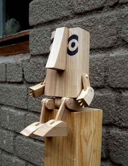 Деревянный человек