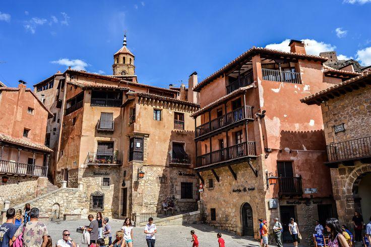 Plaza Mayor de Albarracin (Albarracin - Spain)