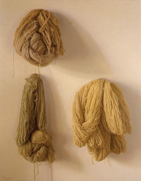 Three Wools - Claudio Bravo Oil on Canvas