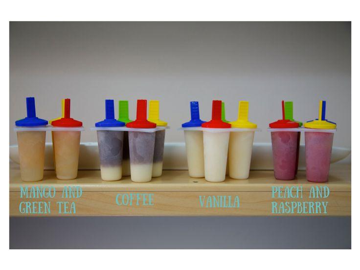 Vanille: summer popsicles!