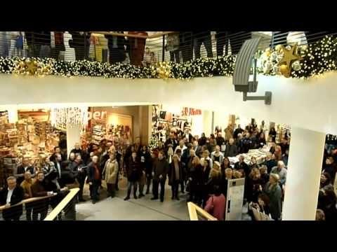 Weihnachtsevent - Halleluja Flash Mob - Weinheim Galerie, Must See!