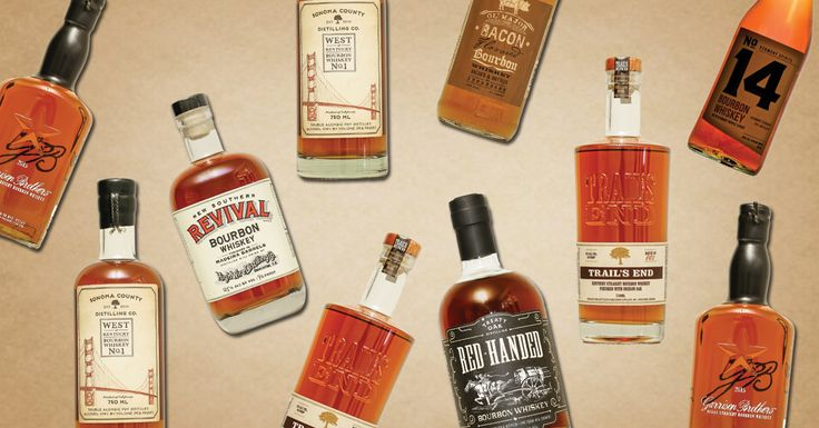 7 Wonderfully Weird New Bourbons to Try