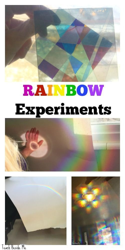 Awesome Rainbow Science Experiments for Kids!   via @karyntripp
