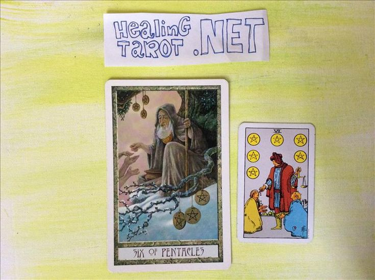 Tarot Card of the day: 6 of Pentacles reversed