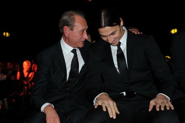 Bertrand Delanoë (homme politique de l'année 2013) et Zlatan Ibrahimovic (homme de l'année 2013)LES HOMMES DE L'ANNÉE GQ 2013