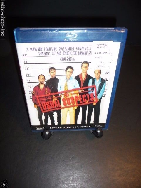 The Usual Suspects (Blu-ray Disc, 2009) Gabriel Byrne, Kevin Spacey  New Sealed