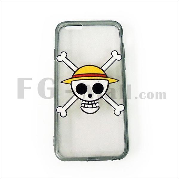 Cartoon Skull Head with Cross iPhone 6 Cover Cases - FG-Mall.com