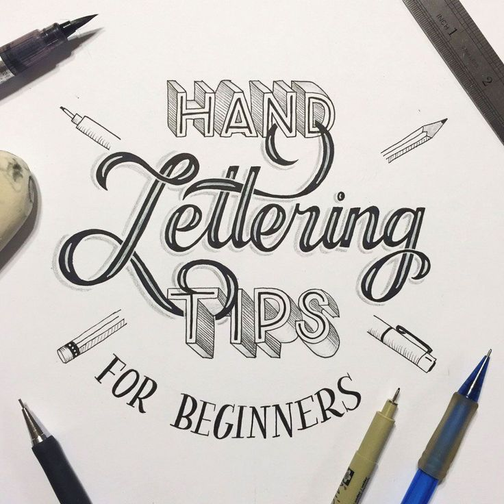 Hand-lettering-for-beginners                                                                                                                                                                                 More