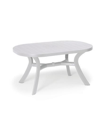 Gartentisch »Kansas«, Kunststoff, 145x95 cm, weiß Jetzt bestellen