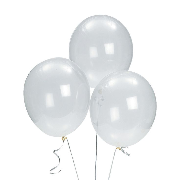 Diamond clear latex balloons can be blown up to for What can you make with balloons