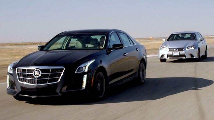 2014 #Cadillac #CTS Vsport vs 2013 #Lexus #GS350 F Sport! [Head 2 Head Episode 45]