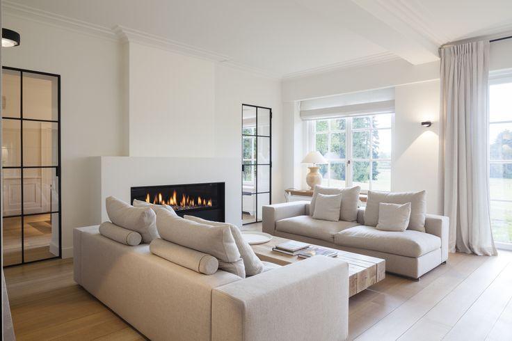 Zeitgenössische Renovierung einer klassischen Villa in Oud-Heverlee