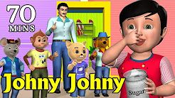 Johny Johny Yes Papa Nursery Rhyme - Kids' Songs - 3D Animation English Rhymes For Children - YouTube