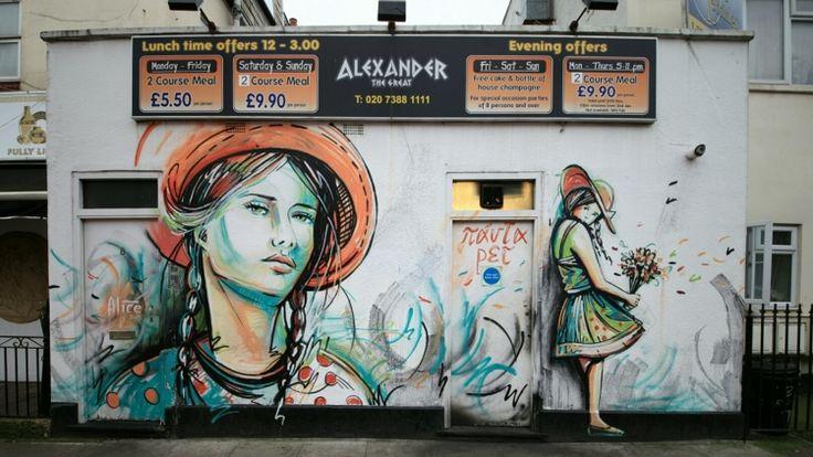 Camden: Street Art Walks  11am everyday,  £15