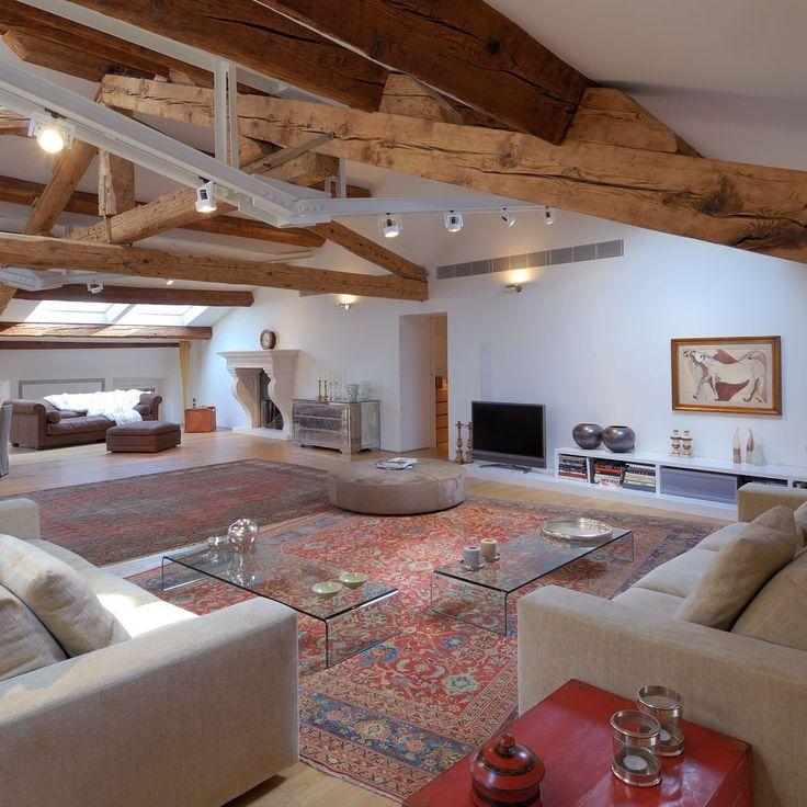 Oltre 25 fantastiche idee su Soffitto con travi in legno su Pinterest