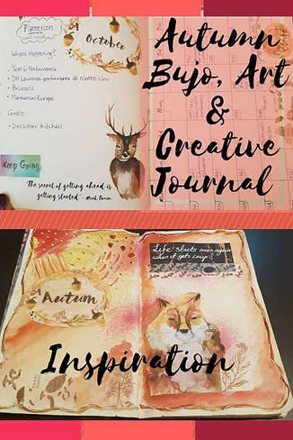 Autumn Bullet Journal, Art and Creative Journal Inspiration - Kerrymay._.Makes