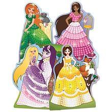 C''est l''heure du Bal du Roi.  Une nouvelle version de ce kit classique te permet de décorer 4 lits de princesse avec de magnifiques gemmes.