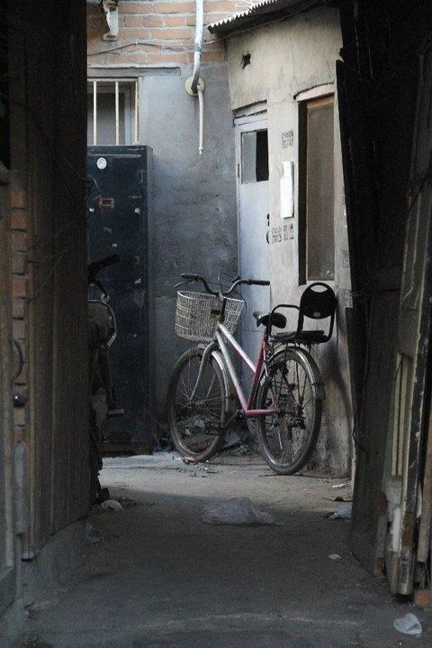 Alleyway in Beijing, China