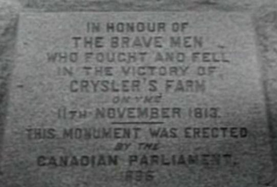 Crysler's Farm Monument