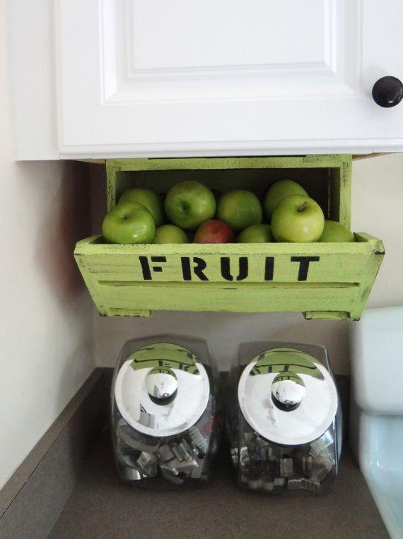 Under Cabinet Fruit Storage Create.