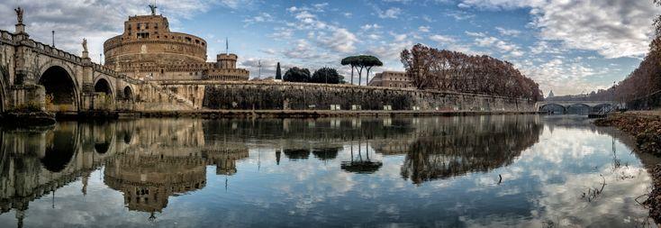 Il Fiume - D. Fantasia  #roma #tevere #rome