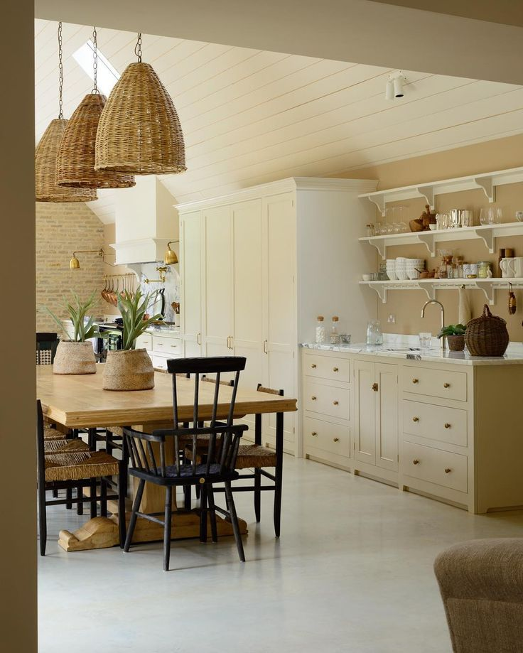 English Kitchen Design: 10 Amazing English Country Kitchens By DeVOL
