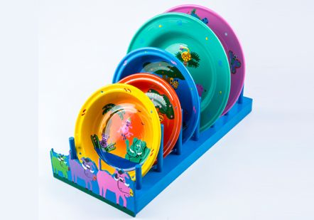 Plate and bowl stand - 9498