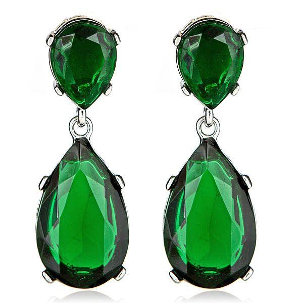 $130 Kenneth Jay Lane Emerald Drop Earrings. http://www.hauteheadquarters.com/earrings/kenneth-jay-lane/308/kyle-richards-emerald-earrings