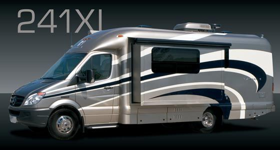 Coach House Platinum Class C motorhome model 241XL Mercedes-Benz chassis | Small motorhomes ...