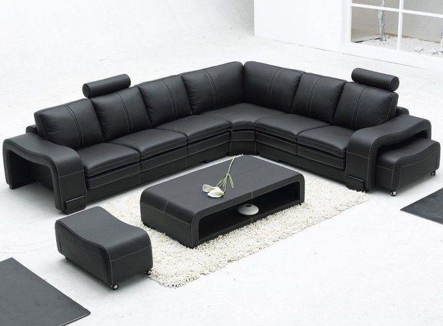 Modern Leather Sofa Part 21