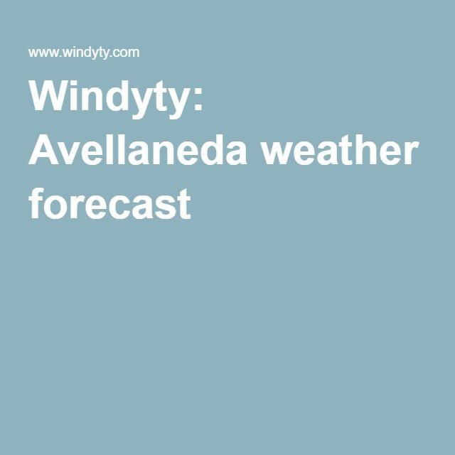 Windyty: Avellaneda weather forecast