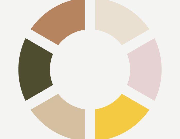 Color Inspiration : zachte kleuren maar met een kick