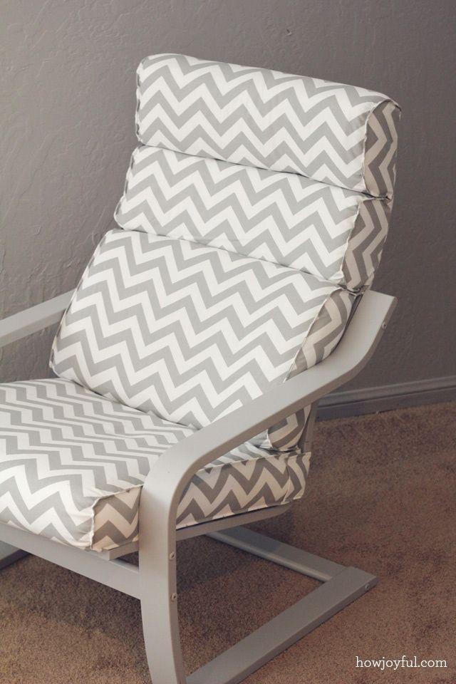 Nursery Ikea Poang Chair Recover How Joyful Diy Poang Chair
