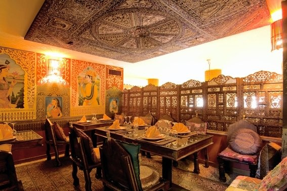 Indian Restaurant Interior Design Creative Classy Design Ideas