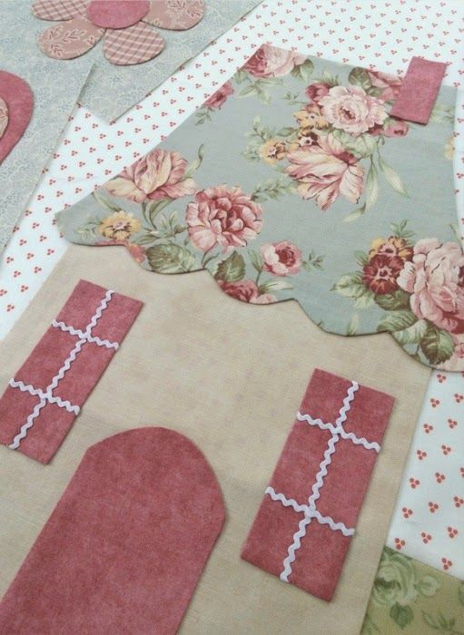 Today we are excited to launch a new   Block of the Month program exclusively at Shabby Fabrics:     English Rose!                   Th...
