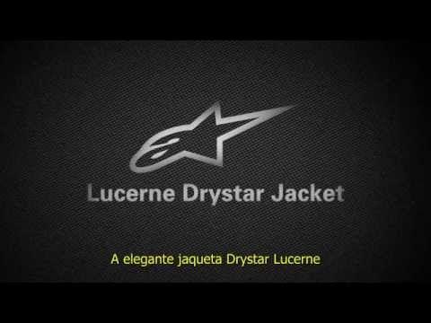 Jaqueta Alpinestars Lucerne Drystar Preta Fluo