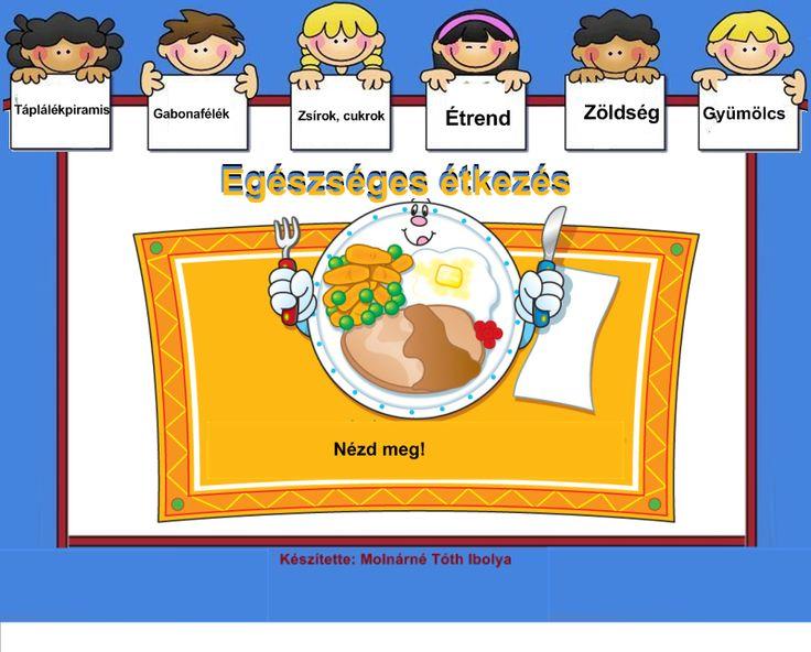 Fotó itt: Egészséges étkezés, táplálékpiramis 1-4. osztály /interaktív tananyag/ - Google Fotók