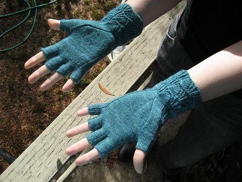 604 Best Knit Hands Images On Pinterest Fingerless Mittens