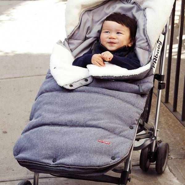 Product Image for SKIP*HOP® Stroll & Go Three-Season Toddler Footmuff 4 out of 5