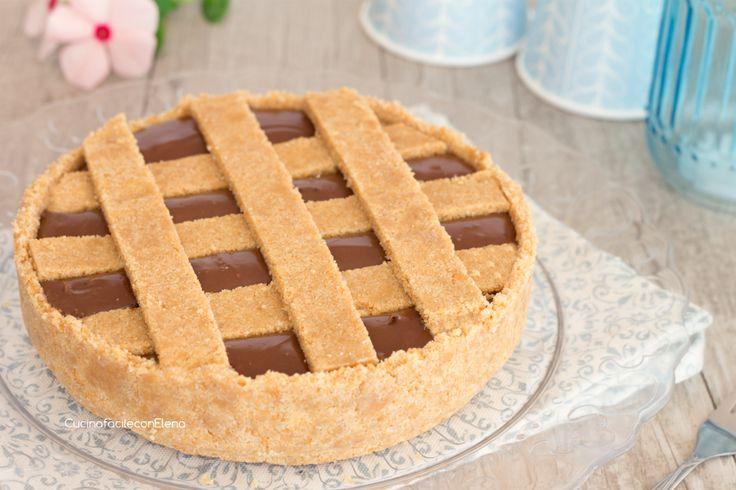 crostata fredda alla Nutella