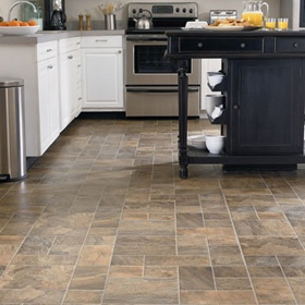 63 best kitchen images on pinterest creative ideas for Laminate floor coverings for kitchens