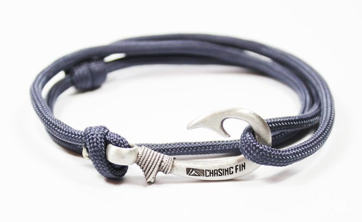 Adjule Fish Hook Bracelet Great For Fishermen And Women Can Be Worn As Necklace