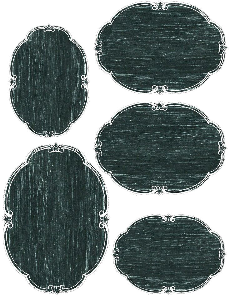 Lilac & Lavender blog: Printable Chalkboard tags, labels, some are blank, some have French-themed white images on them.  Can download for free to use for your own projects.