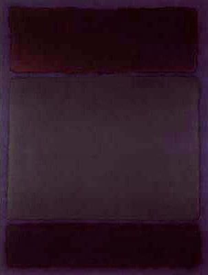 Mark Rothko Untitled 1968 - his reading of Nietzsche, a19th-c German…