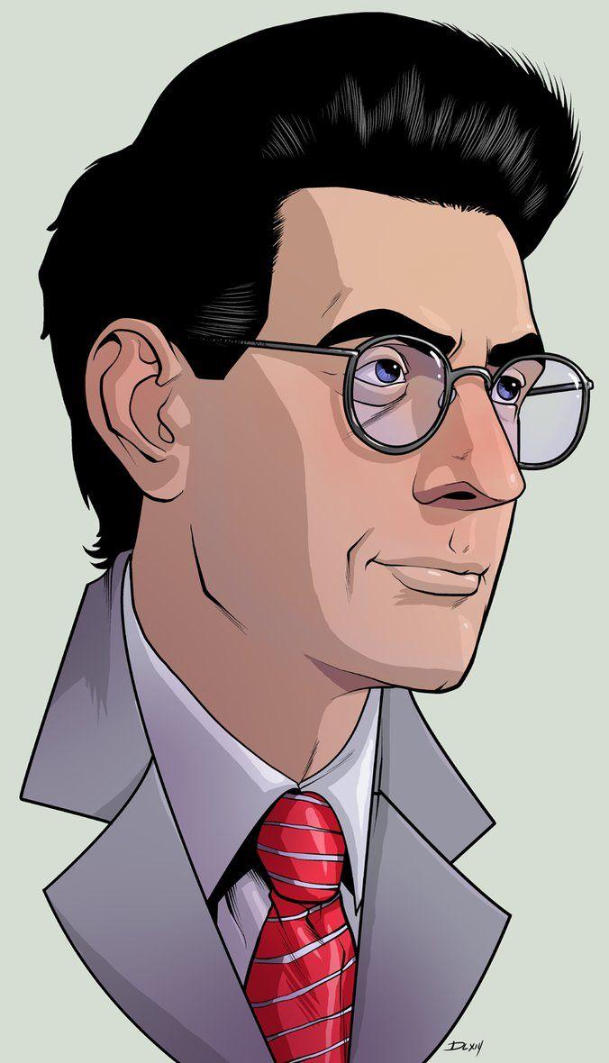 Egon - Ghostbusters - Dwayne Biddix