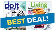 DEAL ALERT! Do It Yourself Magazine Subscription